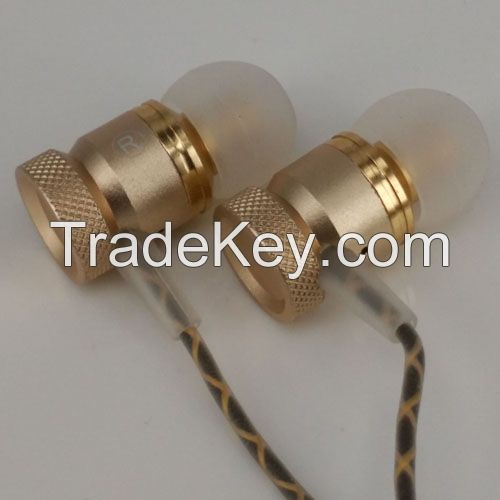 In-Ear earphone,wired earbuds,3.5mm,answer phone with one key