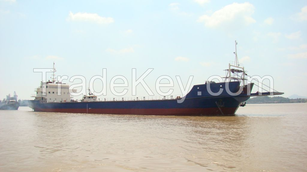 4000DWT deck barge