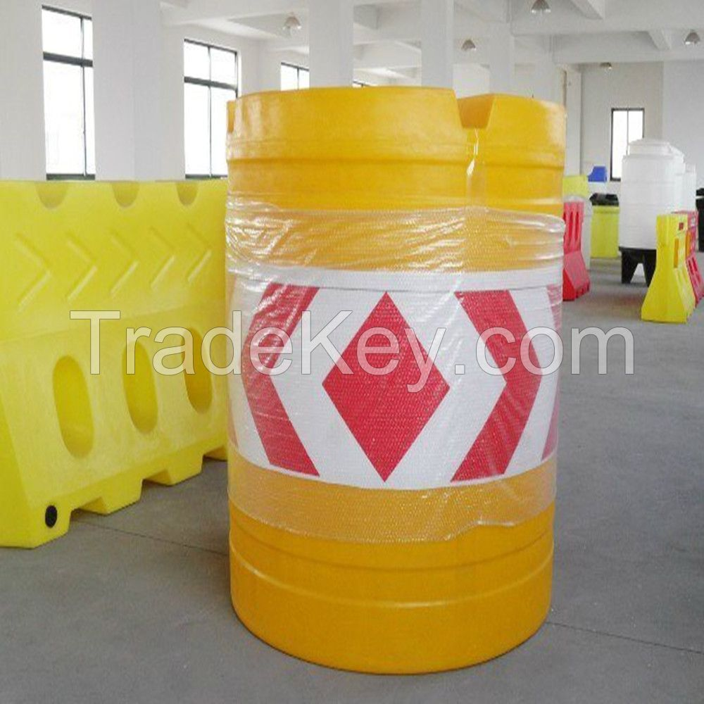 Plastic protection roadway barriers / safety rolling barrier / PE Traffic Facility / Rotomolding