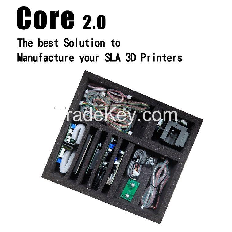 Core 2.0 SLA 3Dprinter