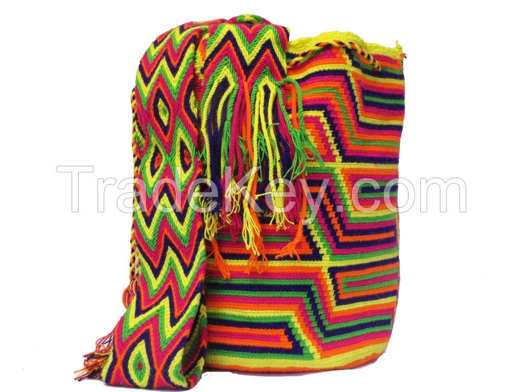 Traditional Wayuu Bag /Mochila Bags/Beach Bags/Crochet Bags