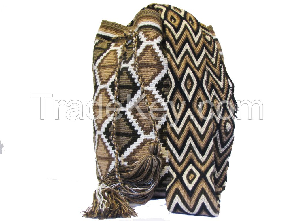 Traditional Wayuu Bag /Mochila Bags/Beach Bags/Crochet Bags