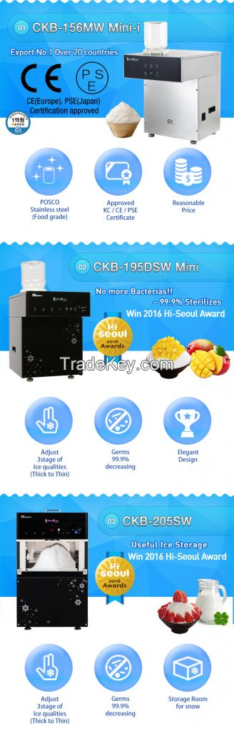 Table type ice flake machine Bings Bings small