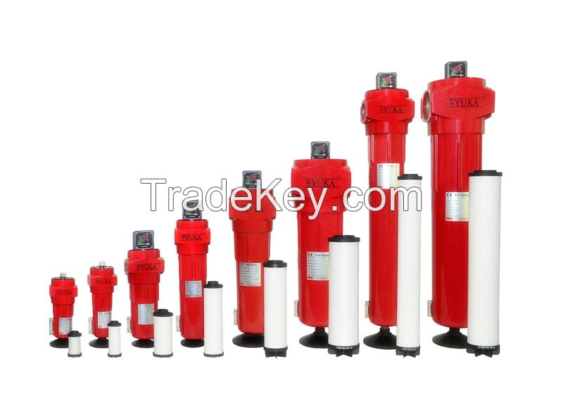 YUKA high quality compressed air filters
