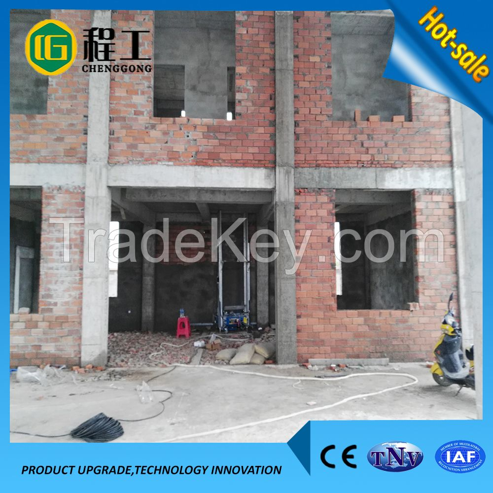 Foldable Directional Pipe Protable Digital Rendering Machine For Wall