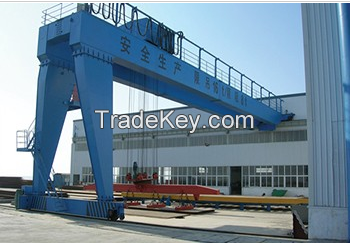 Lift Equipment Travelling Semi Workshop Gantry Crane for sale