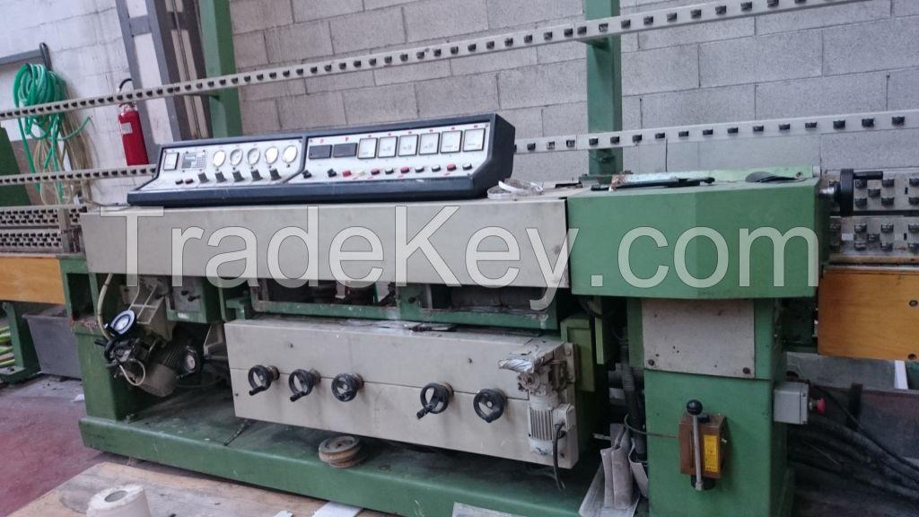 Straight Line Edging Machine BAVELLONI MV9