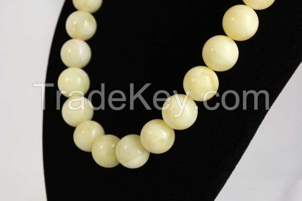 Genuine Baltic Amber Necklaces, Succinite