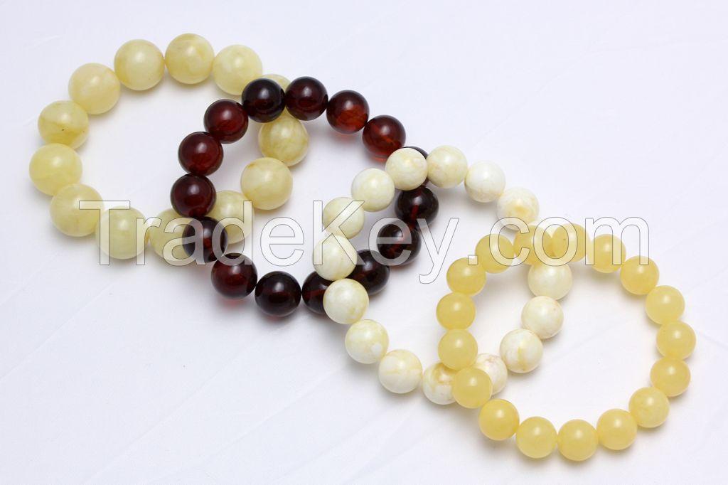 Genuine Baltic Amber Bracelet, Succinite