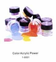 Color Acrylic Powder