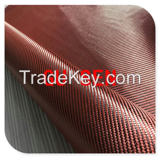 3K-CAP5 carbon and kevlar hybrid cloth fabric