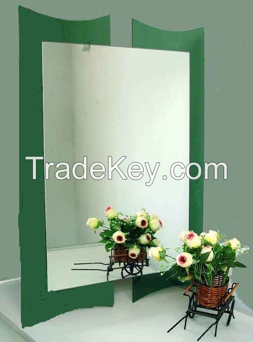 Aluminum Mirror, Decoration Mirror, Furniture Mirror, 1.1mm~12mm Ultra Thin Aluminum Mirror