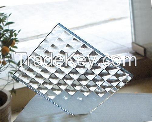 Patterned Glass, Decoration Glass