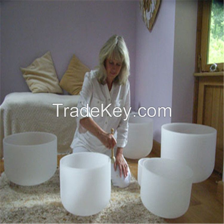 Full Sets of Crystal Singing Bowl
