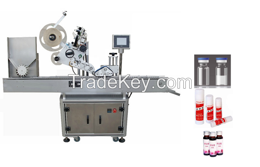 Automatic Round glass and plastic bottle labeling machines