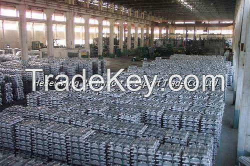 SHG zinc ingot 99.995% purity with high quality