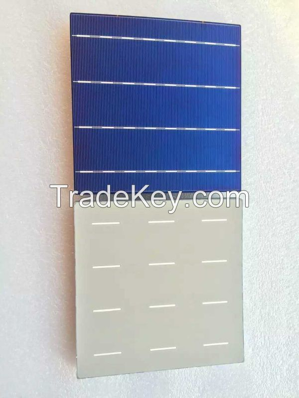 156*156 mm 4BB Poly solar cell