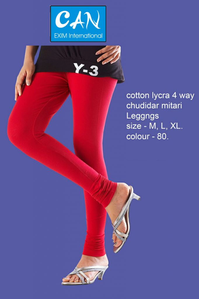 cotton lycra 4 way chudidar leggings for women ladies and girls