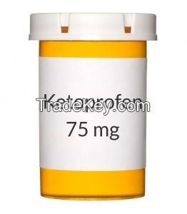 High quality Ketoprofen 99%,(RS)-2-(3-benzoylphenyl)-propionic acid