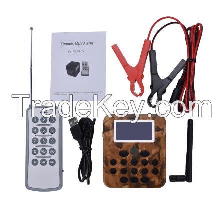 digital electronic hunting bird sound device mp3 remote control bird c