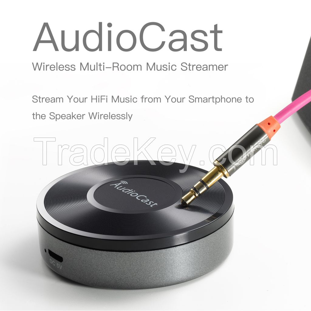 wifi music streamer for multi-room audio system