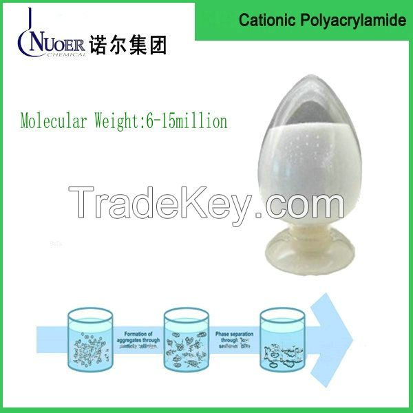 Industrial grade refinery chemicals CPAM polyacrylamide/Cationic PAM for wastewater treatments