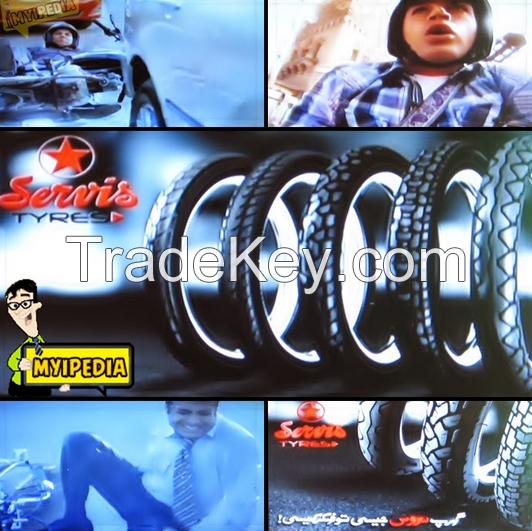Motorbike tire
