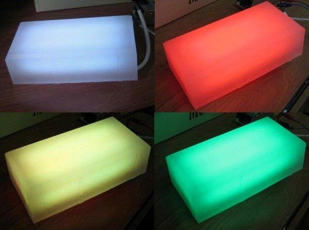 Shining paving slabs, LED