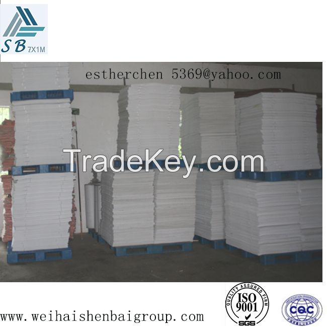 Nonwoven Toe Puff Chemical Sheet For Safty Shoe