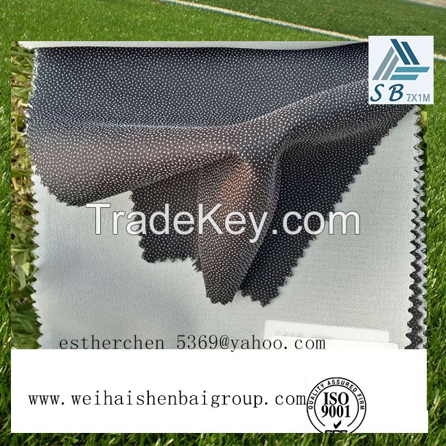 40gsm Fusible Nonwoven Fusing Interlining Fabric For Garment