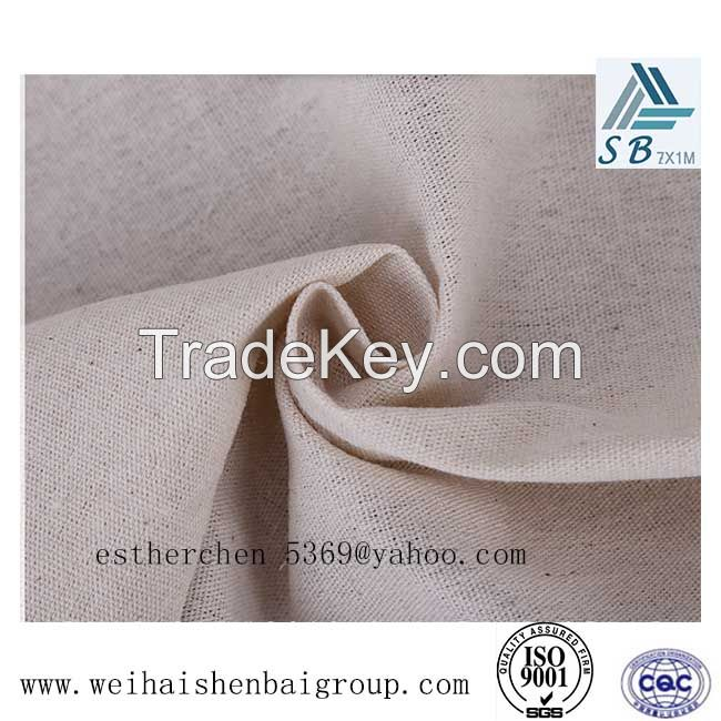 Cotton Material Shoe Lining Fabric With Self Adhesive