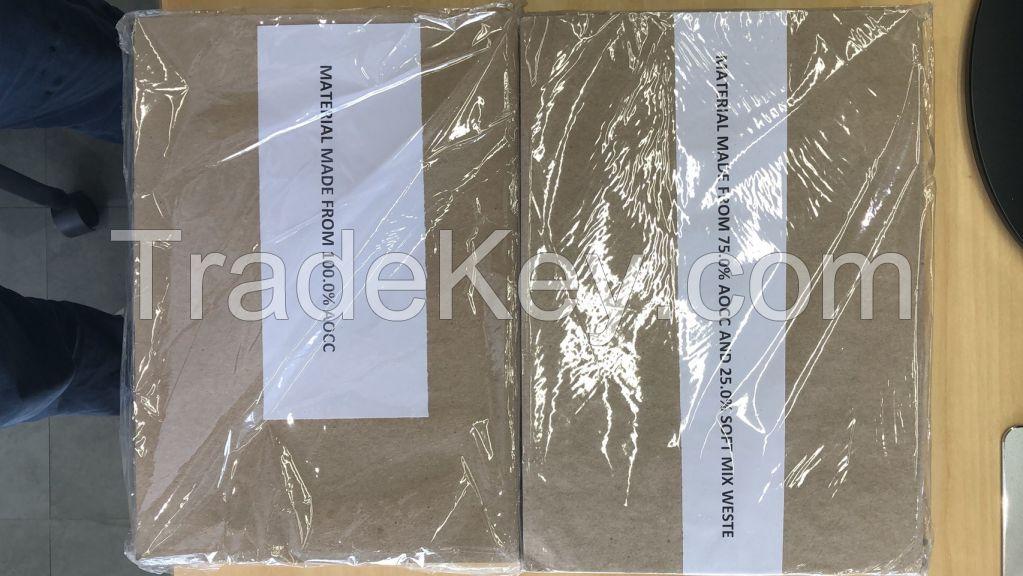 waste paper pulp