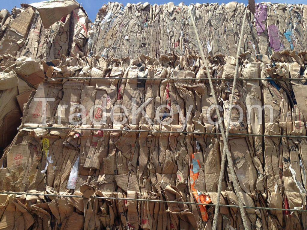 WASTE PAPER-Old Corrugated Cardboard