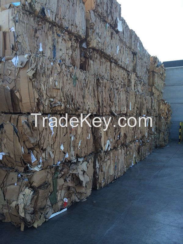 Old Corrugated Cardboard
