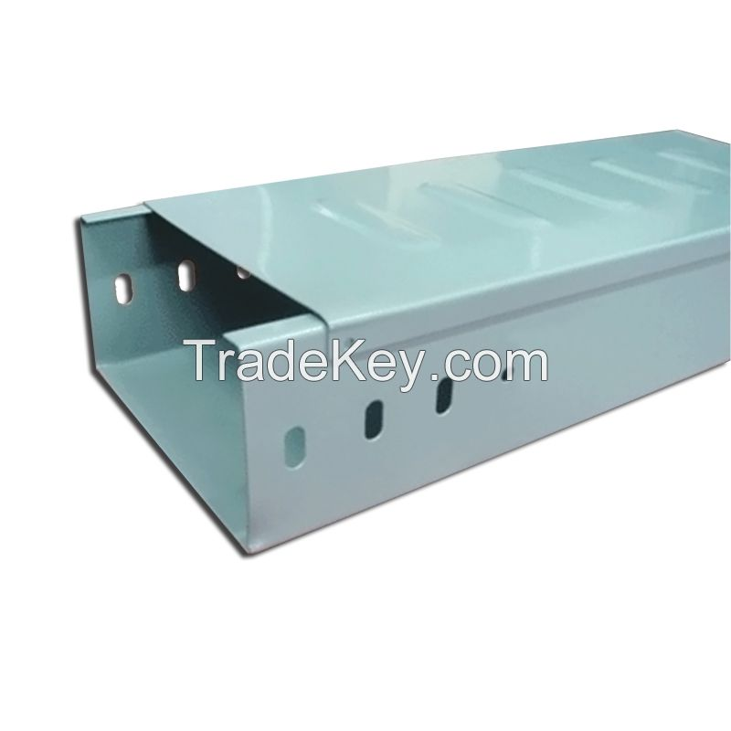 Trough cable tray