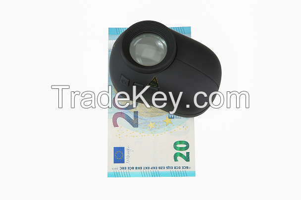 forensic magnifier with anti UV coating  UVC(254nm) UVA(365nm)  Laser(