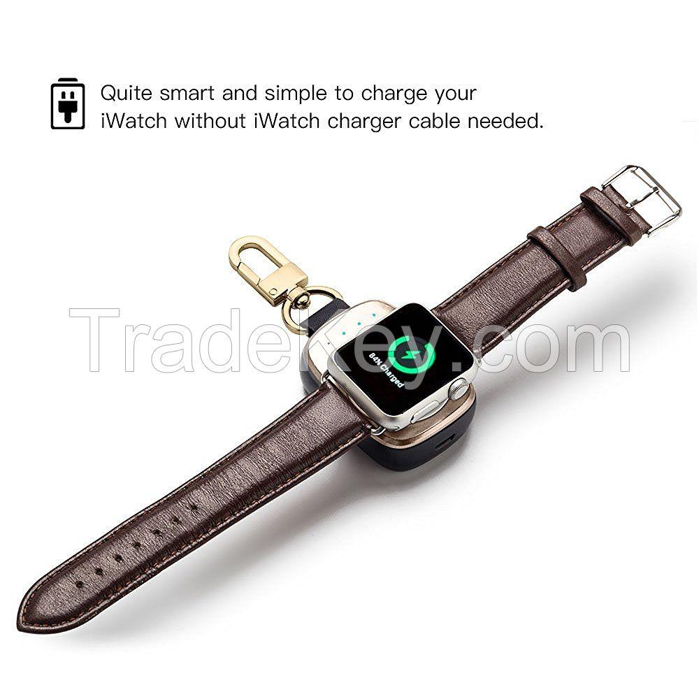 Smart Wireless Key-Chain Power Bank for Apple Watch