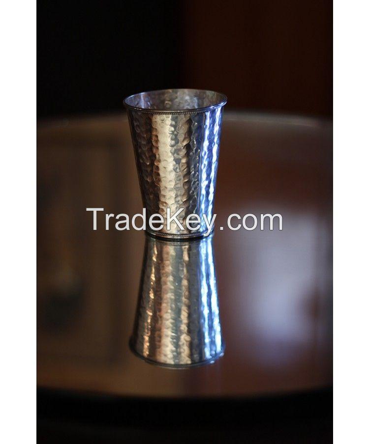 Silver Toothrbush Holder