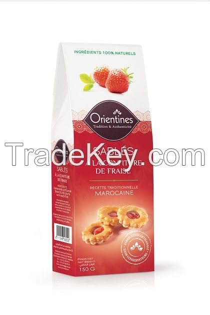 Crackers (Craquants) ~ Strawberry Flavor