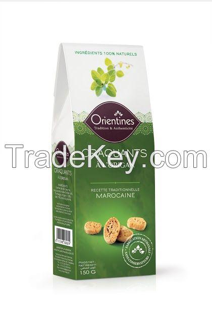 Crackers (Craquants) ~ Oregano Flavor