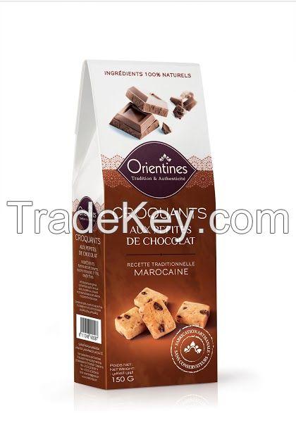 Crackers (Craquants) ~ Chocolate Flavor