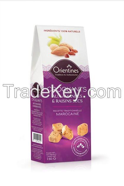 Crackers (Craquants) ~ Almond flavor