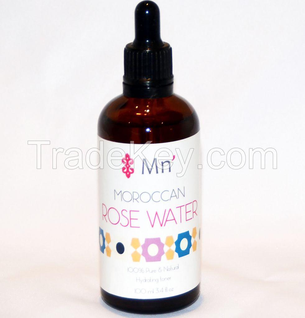 Moroccan Rose Water Toner for Skin care