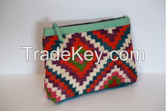 Traditional Kilim Wallets by CARAVAN SERAIL