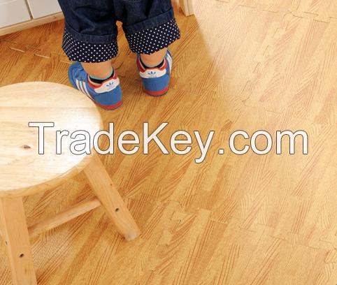 Meitoku most popular wood grain eva foam puzzle mats for indoor ground