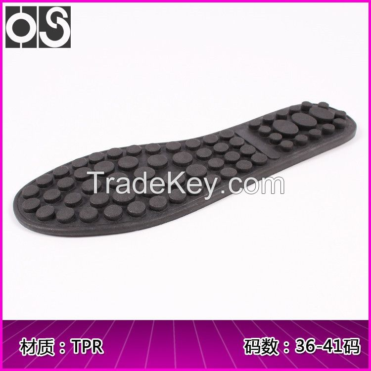 Huasu Flexible non-slip high-quality TPR soles Casual sports Peas sole