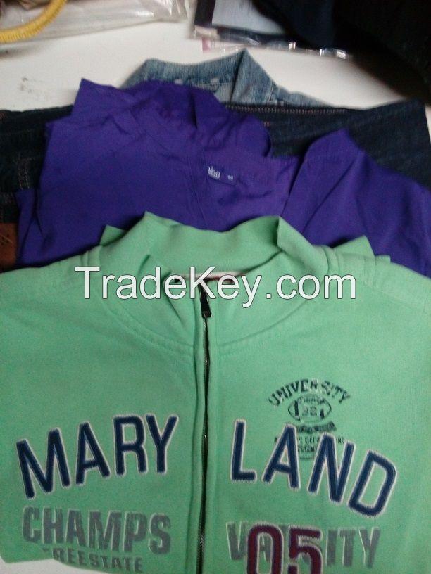 Clothing used