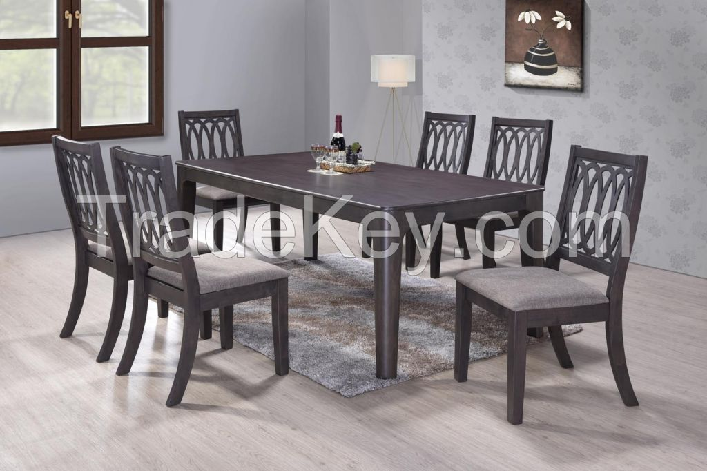 Sam Dining Set (1+6)