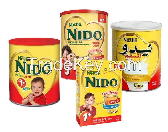 Nestle Nido 1+ 400g Red Cap, White Cap