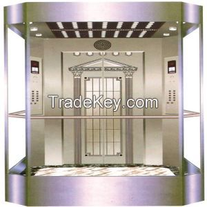 good quality and standard decoration for  panoramic elevator